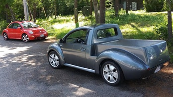 Cute ute? VW Beetle pickup kit is a sell out