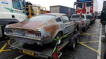 1968 Ford Mustang that was parked over 40 years sold with previous owner's remains inside