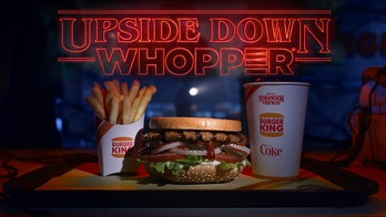 Burger King is literally selling 'Upside Down Whoppers' in honor of 'Stranger Things'