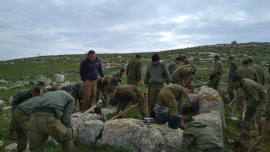 Israeli soldiers discover 3,000-year-old Biblical-era watchtower
