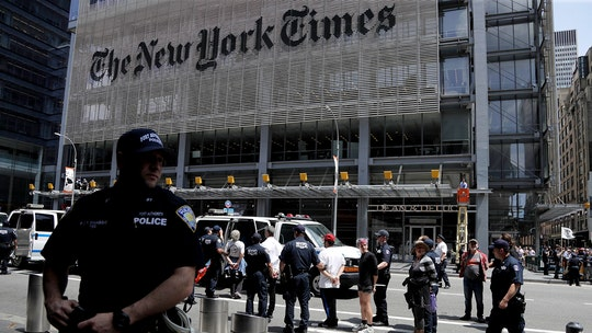 70 climate change protesters arrested outside of New York Times building in NYC