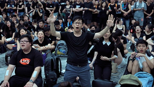 Hong Kong protesters embrace unexpected Christian anthem: 'Sing Hallelujah to the Lord'