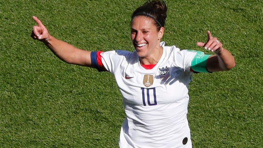 Carli Lloyd serious about pursuing NFL kicking job in 2020: 'I know that I can do it'