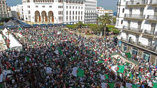 Algeria's army chief renews push for presidential election