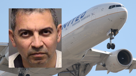 Passenger found guilty of masturbating on flight as wife watched, helped