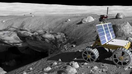 NASA wants robots to sniff out Moon pits for astronaut homes