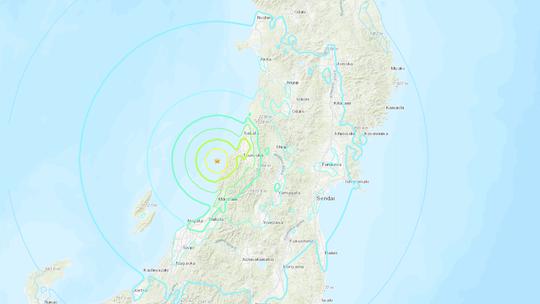 Tsunami warning in Japan after 6.8-mag earthquake strikes