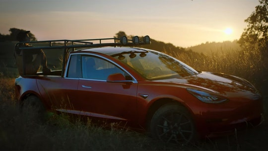 YouTube star builds Tesla pickup from Model 3
