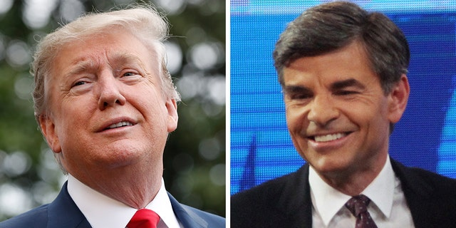 "President Trump, in remarks broadcast Sunday with ABC News' ""This Week"" anchor George Stephanopoulos, said Democrats could stop stonewalling over the U.S.-Mexico border and help solve the crisis with a quick meeting. (AP, File)"