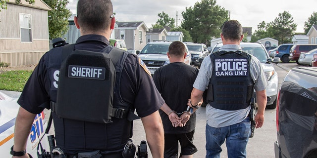 Nearly two dozen gang members and gang associates were arrested in a 26-day operation that targeted MS-13 in the Houston area, according to federal officials.