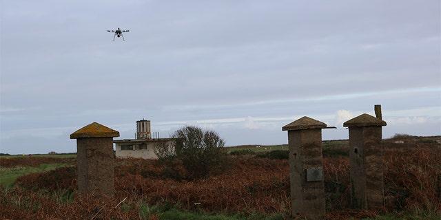 Caroline Sturdy Colls said aerial drones were essential for her research. —SNI/SI Networks L.L.C.