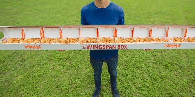 The Wingspan box, which costs a cool $74.69, will only be available on draft day (June 20), at the Popeyes on Canal Street in New Orleans, and only while supplies last.