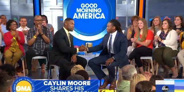Caylin Moore on Good Morning America