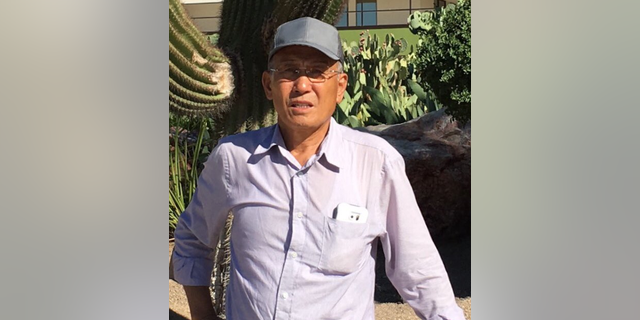 Eugene Jo, 73, was found alive in California's Angeles National Forest on Saturday, officials said.
