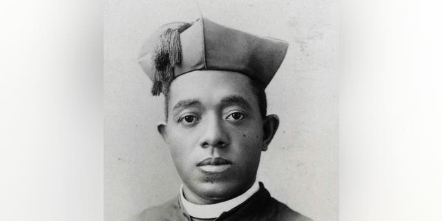This undated photo courtesy of the Diocese of Springfield in Springfield, Ill., shows Quincy's Father Augustine Tolton.