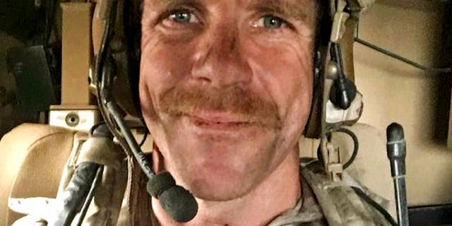 Chief of Special Operations Edward Gallagher, whose case President Trump has attracted attention. (Edward Gallagher / Courtesy of Andrea Gallagher on AP, File)