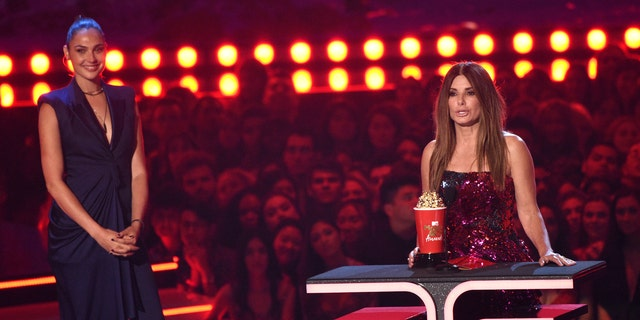 Sandra Bullock Takes the Most Terrified Performance Award for