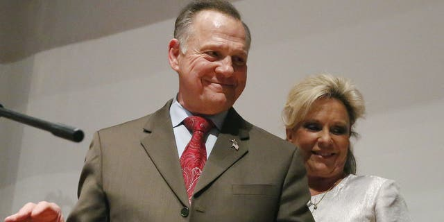 FILE - Roy Moore (AP Photo/Brynn Anderson, File)