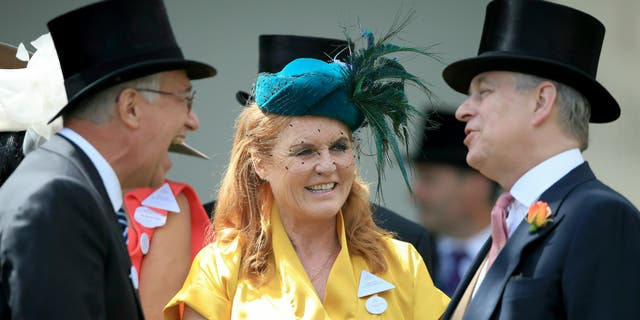 There are rumors that Prince Andrew, right, and Sarah, Duchess of York, are rekindling their romance.
