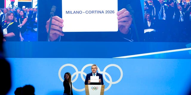The President of the International Olympic Committee, Thomas Bach, announced on Monday that the Olympics in 2026 will be held in Italy.