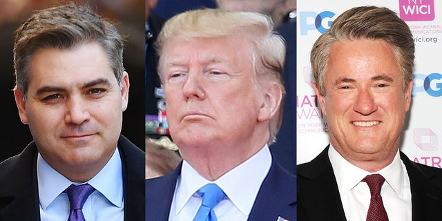 Even Jim Acosta and Joe Scarborough complimented President Trump's D-Day anniversary speech.