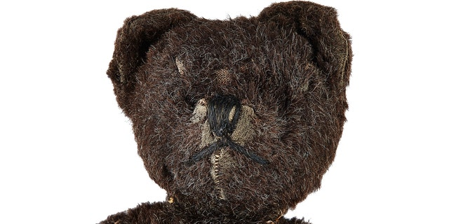 Neil Armstrong's childhood teddy bear is among the items up for auction. (Heritage Auctions)