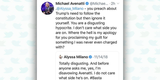 """For some reason, the lawyer chose to respond on Monday -- about eight months after the actress' tweet -- by labeling her a """"disgusting hypocrite""""<br>"""