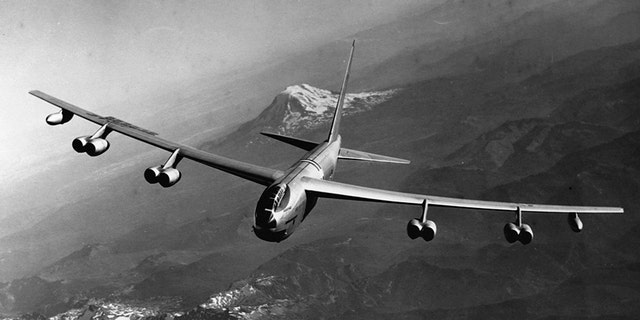 The B-52A Stratofortress was a long-range heavy bomber used extensively by the United States military for a period of a year.
