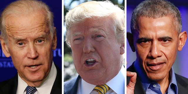 President Trump has renewed his attacks on Joe Biden, this time questioning why former President Barack Obama hasn't endorsed his ex-VP.