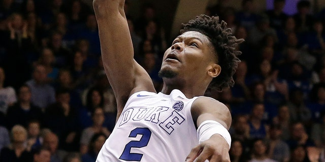 With the No. 5 and 26 picks in the NBA Draft, the Cleveland Cavaliers could be in position to select Texas Tech's Jarrett Culver, Virginia forward De'Andre Hunter or Duke's Cam Reddish. (AP Photo/Gerry Broome, File)