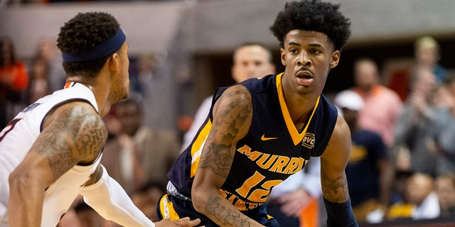 Morant, Darius Garland and Coby White make up a clear top tier of point guards in next week's NBA draft. (AP Photo/Vasha Hunt, File)