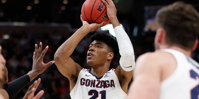Hachimura is one of the top forwards in the NBA Draft on Thursday, June 20. (AP Photo/Jeff Swinger, File)