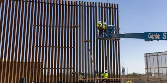 Westlake Legal Group Calexico-Border-Wall-2-CBP Construction of border wall panels underway in California fox-news/us/us-regions/west/california fox-news/us/immigration/mexico fox-news/topic/border-wall fox news fnc/us fnc dcc5c7a1-1345-5cb6-bfcc-dd28828285d1 David Aaro article