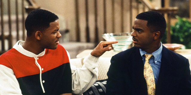 Pictured: (l-r) Will Smith as William 'Will' Smith, Alfonso Ribeiro as Carlton Banks