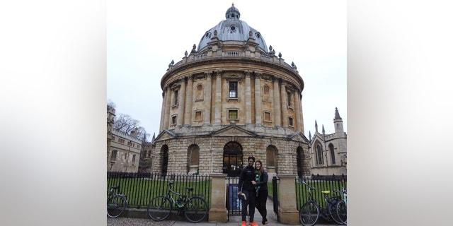 Caylin & Paola Moore at Oxford University