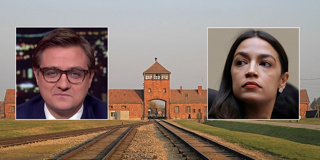 The Auschwitz Memorial responded to MSNBC host Chris Hayes defending Alexandria Ocasio-Cortez's rhetoric on concentration camps. (AusciStock/MSNBC/AP)
