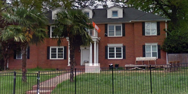 Police found Thomas Few outside this house in Clemson