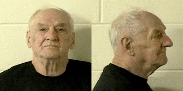 Mugshot for Raymond Vannieuwenhoven. Prosecutors said they used DNA and genetic genealogy to connect Vannieuwenhoven to the killings 43 years ago of young couple David Schuldes and Ellen Matheys.(Marinette County Sheriff via AP)