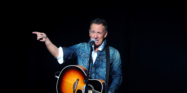 Bruce Springsteen performs at the 12th annual Stand Up For Heroes benefit concert at the Hulu Theater at Madison Square Garden in New York. Nov. 5, 2018. (Photo by Brad Barket/Invision/AP, File)