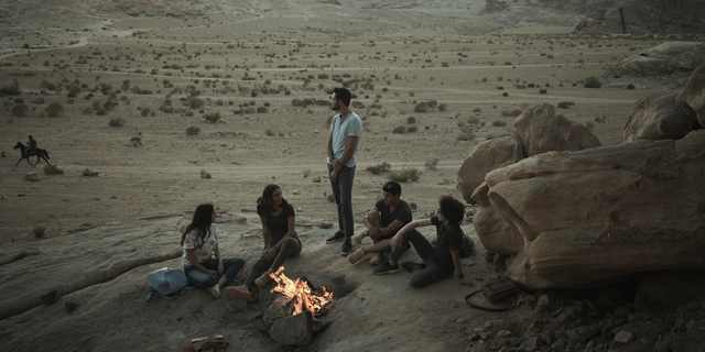 """This undated photo provided by Netflix shows a scene from the series """"Jinn."""" By global Netflix standards, its first original Arabic series """"Jinn"""" hardly pushes the envelope. But when the show debuted worldwide last week, many Jordanians were shocked and appalled by a program that they say violates the country's conservative norms. The outrage has shaken Jordan's self-image as a bastion of tolerance in a turbulent region and reflects a cultural gap between the country's Western-allied ruling elite and deeply conservative Muslim public. (Netflix via AP)"""