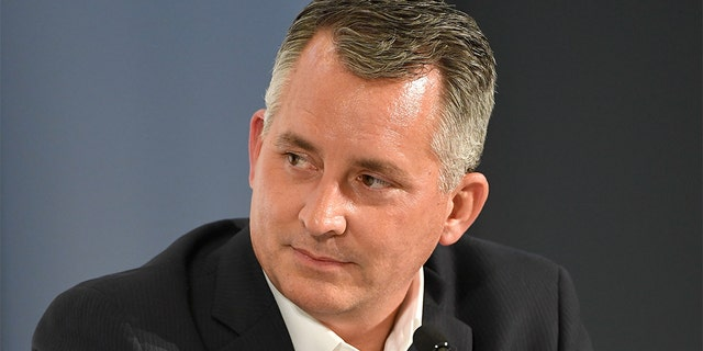 David Jolly speaks Oct. 20, 2018, in Los Angeles. (Getty Images)