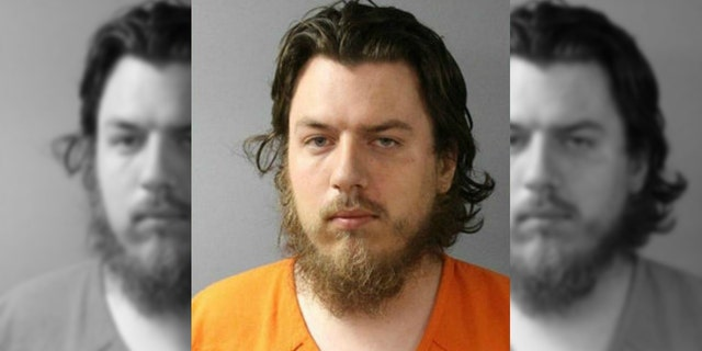 David Oxenrider, 29, was arrested on Sunday after he allegedly made a homemade bomb, police said.
