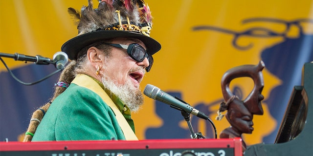 Dr. John performing during the 2017 New Orleans Jazz & Heritage Festival. (Erika Goldring/Getty Images, File)