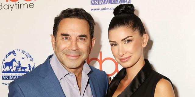 """Botched"" star Dr. Paul Nassif and girlfriend Brittany Pattakos are pictured here in September 2018. Nassif revealed on social media Monday that he popped the question."