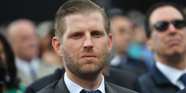 Eric Trump says he was spit on at Chicago cocktail lounge