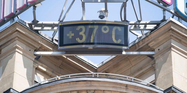 Westlake Legal Group EuropeHeatwave1 Europe heatwave breaks records in Germany, Czech Republic as region sizzles Travis Fedschun fox-news/world/world-regions/europe fox-news/world/disasters fox-news/weather fox news fnc/world fnc d2882b0c-272c-53ed-b578-b773b626e0d3 article