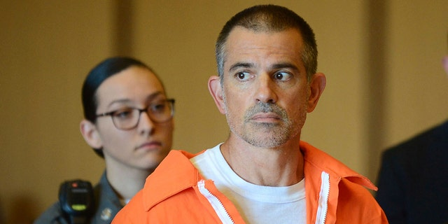 Fotis Dulos stands during a conference during Stamford Superior Court, Tuesday9 in Stamford, Conn. Fotis Dulos, and his girlfriend, Michelle Troconis, have been charged with justification tampering and opposition charge in a disappearance of his wife, Jennifer Dulos. The mom of 5 has has been blank given May 24.