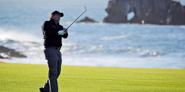 Phil Mickelson will look to complete the career Grand Slam with his first U.S. Open win. (AP Photo/Eric Risberg, File)