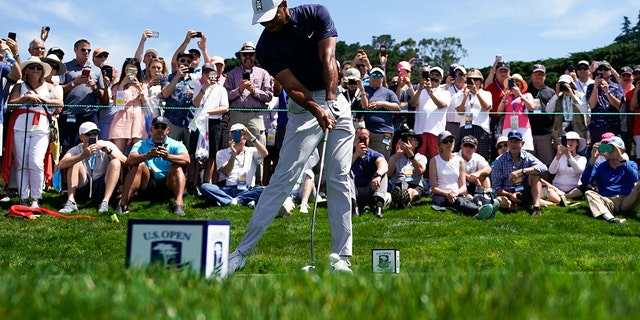 Tiger Woods missed the cut at the PGA Championship in May. (AP Photo/David J. Phillip)