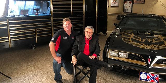 Gene Kennedy (left) with Burt Reynolds. — Courtesy of Gene Kennedy